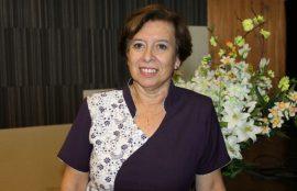 La directora de la Escuela de Nutrición y Dietética, Ximena Alegría.