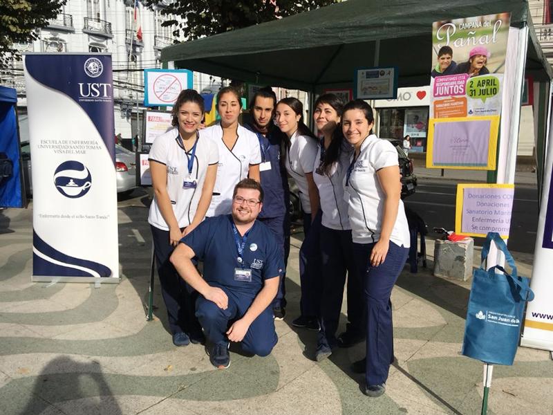Semana de la Enfermería en UST Viña del Mar