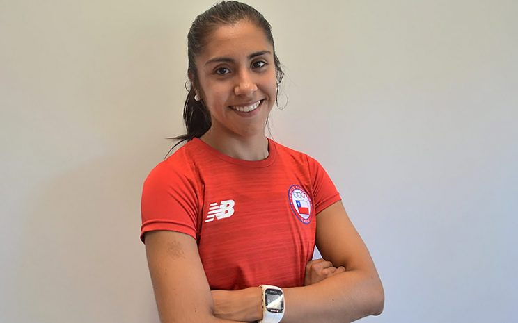 Yoselyn Cárcamo, alumna de Tecnología Médica UST Viña del Mar en Juegos Odesur