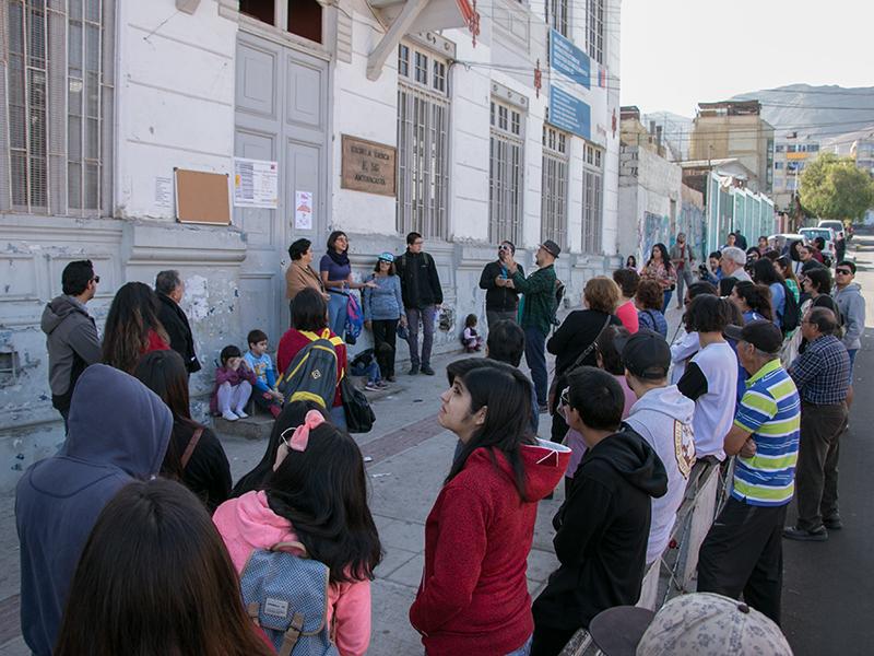Distintas iniciativas se han desarrollado en el Barrio Estación.
