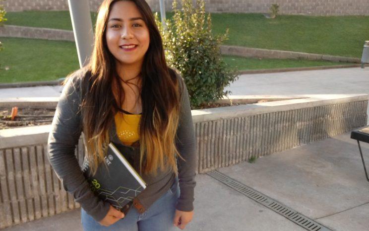 Lucero Salinas, estudiante mexicana de intercambio