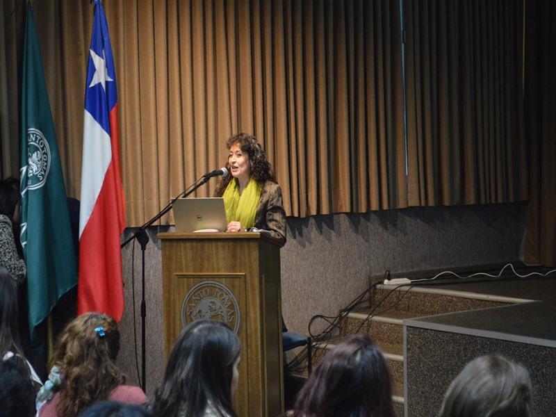 Karova Martínez, jefa de carrera de Educación Diferencial