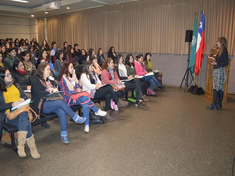 Las jornadas de trabajo se desarrollaron en el salón Auditorio de Santo Tomás Temuco