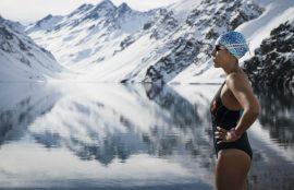 Bárbara Hernández es la campeona mundial de nado en aguas gélidas.