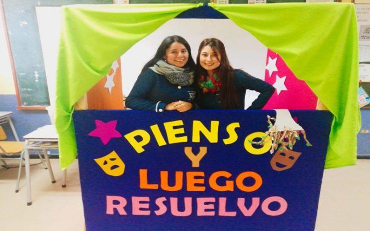 Estudiantes Educación UST Temuco trabajan por la buena convivencia escolar