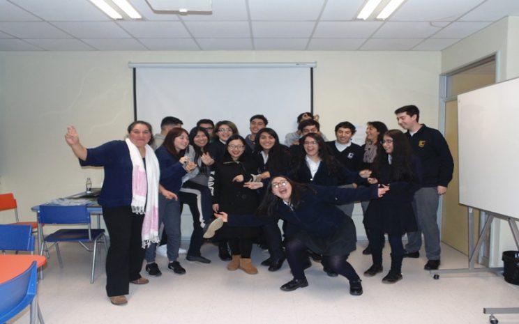 Curso de Chino Mandarín para delegación del Liceo Jorge Teillier de Lautaro