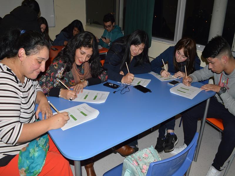 En la delegación también participaron dos profesoras del establecimiento