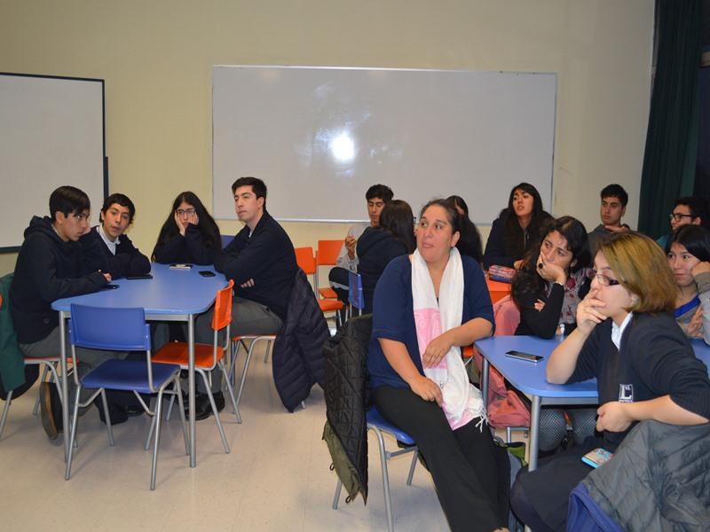 Profesoras y secundarios de Lautaro participaron en el curso