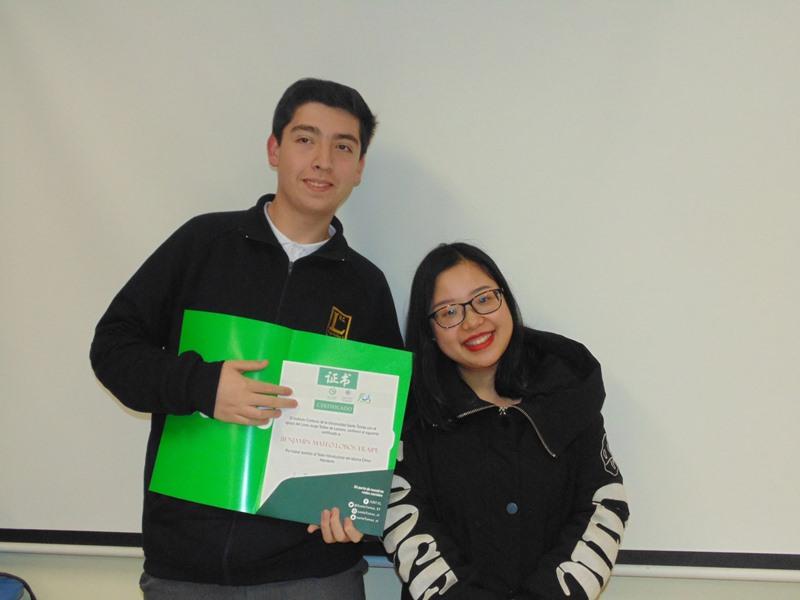 Al final el curso recibieron una certificación por su participación