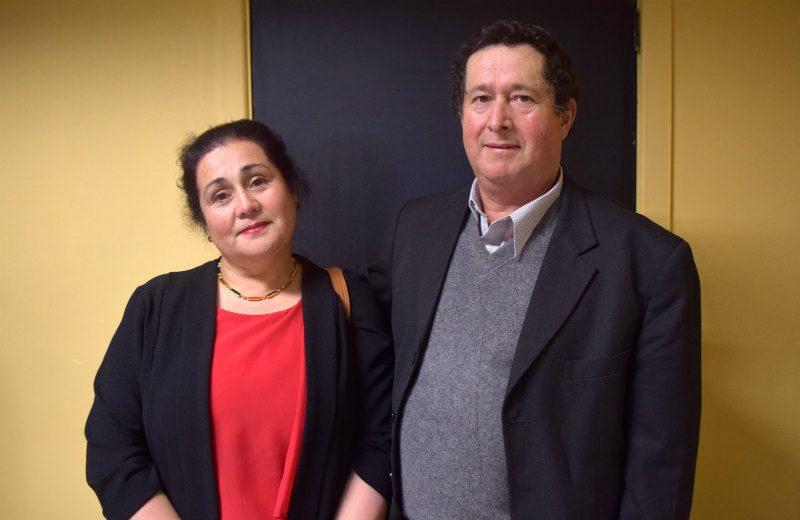 Adriana Mancilla y Alberto Oyarzo