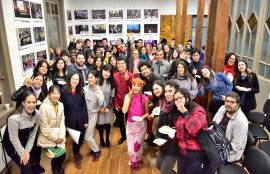fiesta china bote de dragón celebra el IC UST