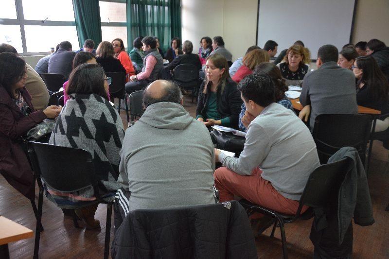 Jornadas Autoevaluación en Concepción.