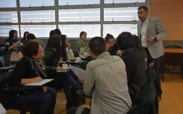 Estudiantes reunión