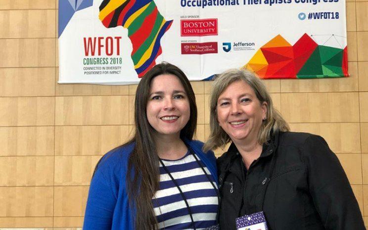 Docentes de Terapia Ocupacional UST Viña del Mar en Congreso Internacional