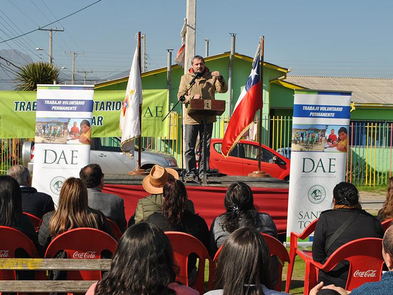 Inicio Trabajos Voluntarios de Invierno en Quillota