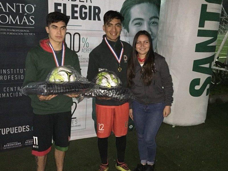 1° Lugar Fútbol Tenis Colegio INITEC Diego Portales de Curicó