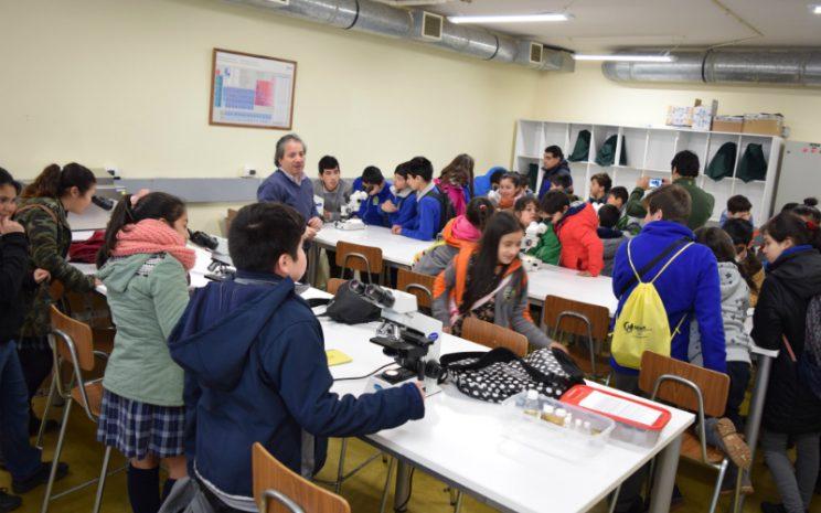 Visita laboratorios UST Puerto Montt