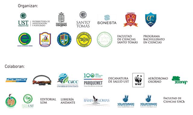 Organizadores y colaboradores 7° Feria de la Ciencia y Tecnología.