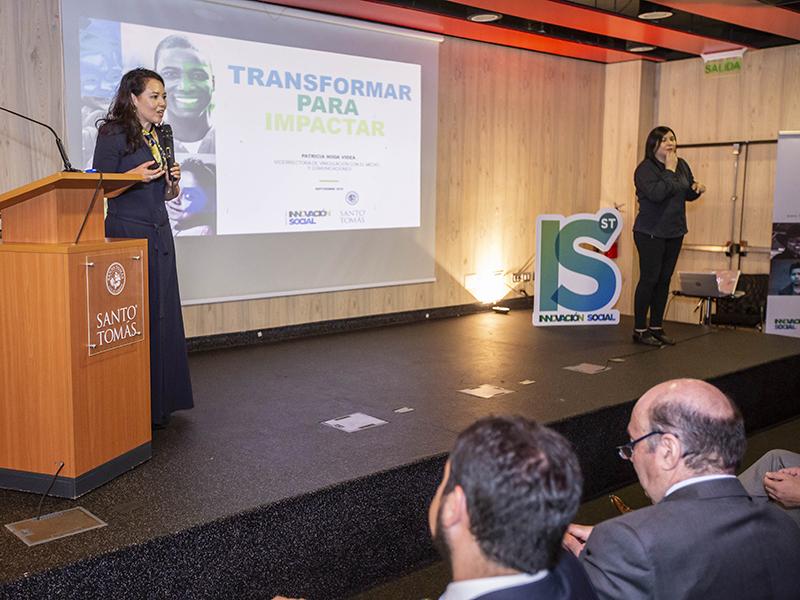 La vicerrectora de Vinculación con el Medio y Comunicaciones, Patricia Noda, contó detalles del proyecto.