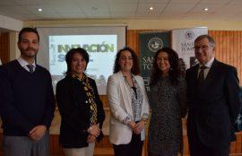 Julio Cisternas, Laura Bertolotto, Soraya Said, Patricia Noda y Eugenio Larraín