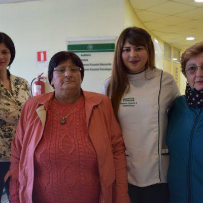 Paula Águila, María Águila, Valentina Vicencio y Cecilia Larrea