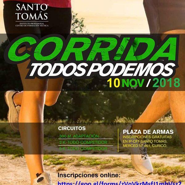"""CORRIDA """"TODOS PODEMOS"""" 2018"""