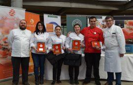 Equipo ganador Liceo Polivalente de Quemchi