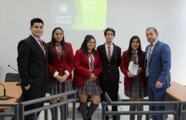 Los alumnos del Lecya se impusieron en el 1er Torneo de Debate.