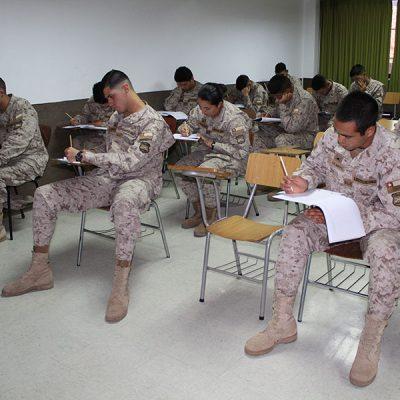 En el ensayo participaron conscriptos de Antofagasta y Calama.