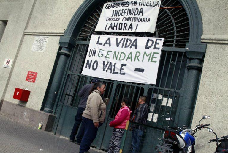 Paro Gendarmería