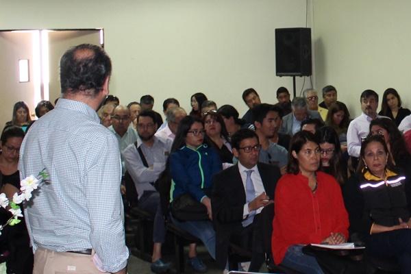 Sindicatos y empleadores participaron en seminario sobre