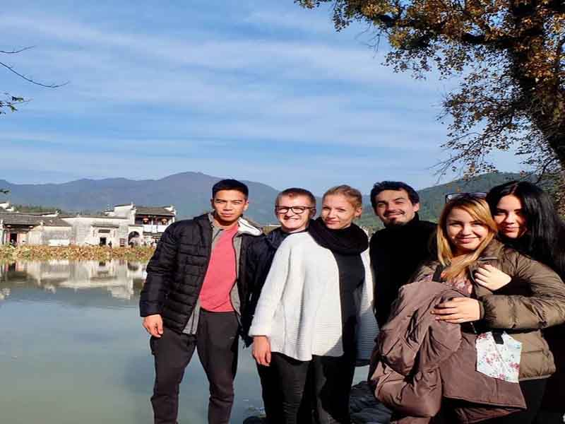 capacitación profesores del IC UST en China