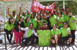 Carolina Romo, estudiante de Psicología, participó de los trabajos voluntarios en Paihuano.