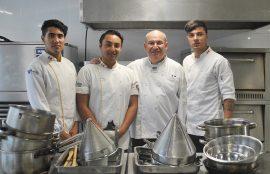 Gastronomía Internacional y Tradicional Chilena de Santo Tomás Viña del Mar recibió alumnos de México.
