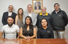 Maria José Leiva, Israel Pacheco y Juan Pinto fueron los Alumnos Sello 2019.