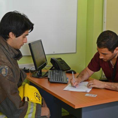 Exámenes gratuitos para bomberos de Temuco