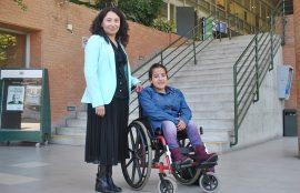 Bárbara Estrada es alumna nueva de Técnico en Educación Parvularia.