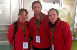 Tres alumnas de servicio social forman parte del Proyecto Mentoring