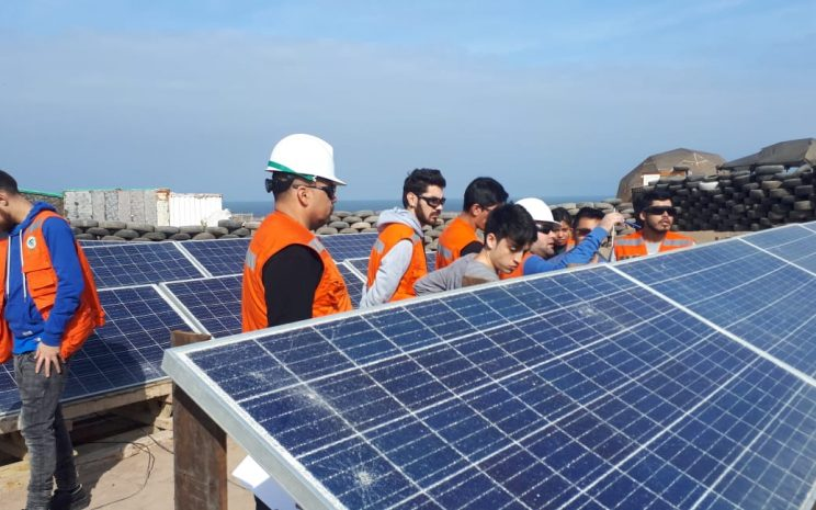 T 233 Cnico En Energ 237 A Solar Estudiantes Repararon Paneles