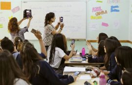 celulares-en-clase
