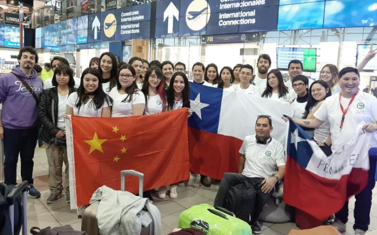 estudiantes de chino mandarin viajan a china