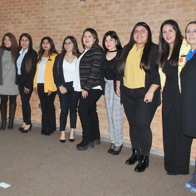 Investidura – Servicio social – alumnas