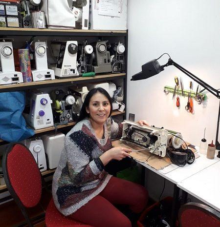 máquinas coser CNL