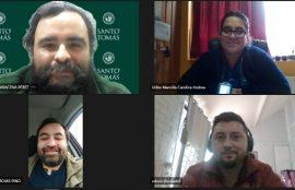 Reunión coordinación Proyecto de Innovación Social